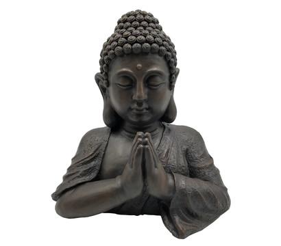 Dehner Magnesia-Buddha, ca. B37/H40,5/T27 cm