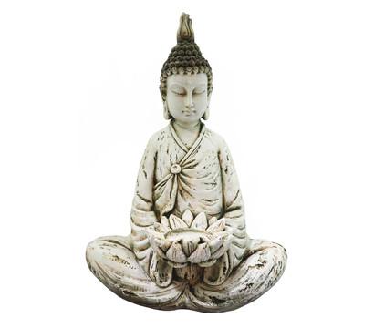 Dehner Magnesia-Buddha Raja, ca. B49/H69/T36,5 cm