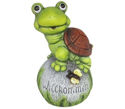 Dehner Magnesia-Schildkröte auf Ball, 21,5 x 24 x 37 cm