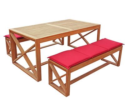 dehner markenqualit t akazienholzset new york dehner garten center. Black Bedroom Furniture Sets. Home Design Ideas