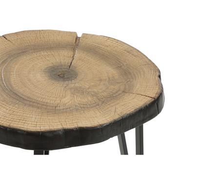 Dehner markenqualit t beistelltisch baumscheibe schwarz natur dehner garten center - Beistelltisch baumscheibe ...