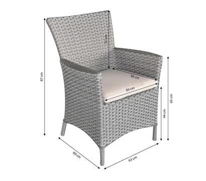 dehner markenqualit t flechtsessel salzburg dehner garten center. Black Bedroom Furniture Sets. Home Design Ideas