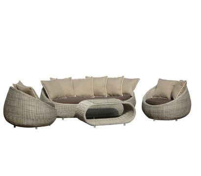 Dehner Markenqualität Loungegruppe Bilbao