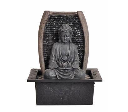 dehner markenqualit t polyresin zimmerbrunnen zen buddha. Black Bedroom Furniture Sets. Home Design Ideas