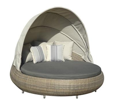 Sofa rund oval  Dehner Markenqualität Sun-Lounger Florida : Dehner Garten Center