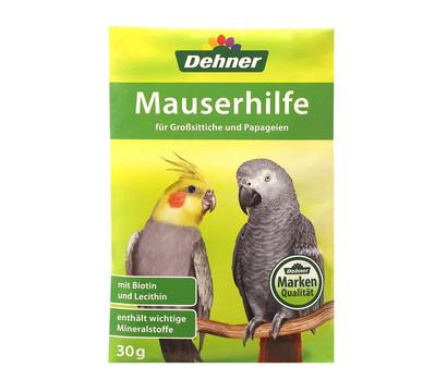 Dehner Mauserhilfe für Großsittiche und Papageien, 30 g