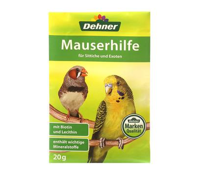 Dehner Mauserhilfe für Sittiche und Exoten, 20 g