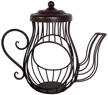 dehner metall deko kanne derry 26 cm dehner garten center. Black Bedroom Furniture Sets. Home Design Ideas
