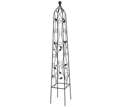 dehner metall obelisk cornwall dehner garten center. Black Bedroom Furniture Sets. Home Design Ideas