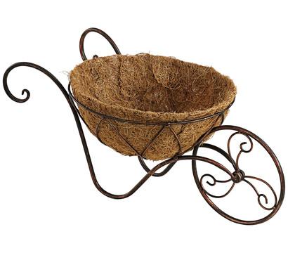 dehner metall schubkarre inkl einsatz bepflanzbar. Black Bedroom Furniture Sets. Home Design Ideas