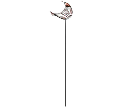 Dehner Metall-Dekostab Vogel Picco nach oben schauend, 130 cm