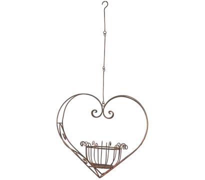 Dehner Metall-Hängeampel Herz