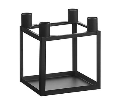 Dehner Metall-Kerzenhalter, schwarz