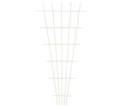 Dehner Metall-Rosenspalier, 150 x 75 cm