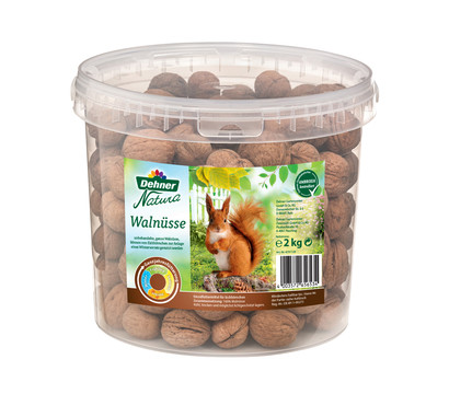 Dehner Natura Eichhörnchenfutter Walnüsse