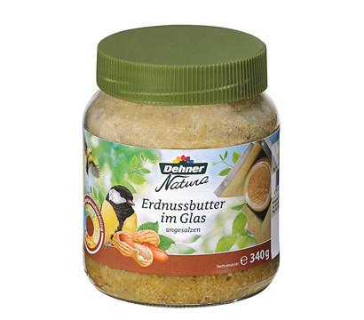 Dehner Natura Erdnussbutter im Glas, 340 g
