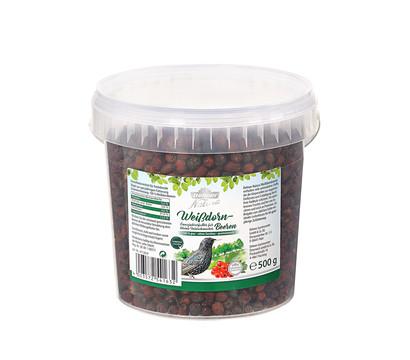 Dehner Natura Premium Ganzjahresfutter Weißdornbeeren, 500 g