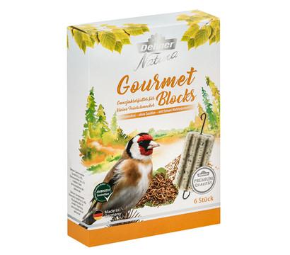 Dehner Natura Premium Wildvogelfutter Gourmet Blocks mit Mehlwürmern