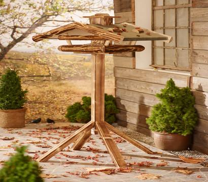 dehner natura vogelhaus st nder watzmann geflammt. Black Bedroom Furniture Sets. Home Design Ideas