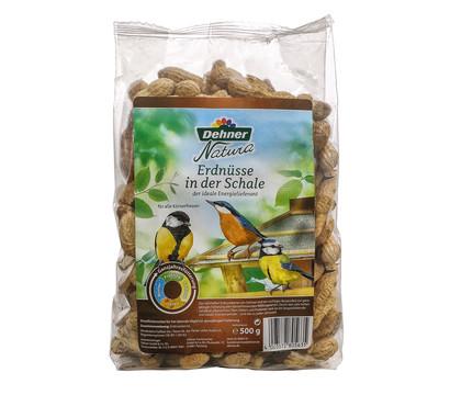 Dehner Natura Wildvogelfutter Erdnüsse in der Schale, 500 g