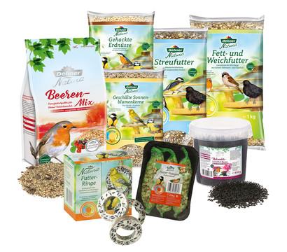 Dehner Natura Wildvogelfutter Futterbuffet Maxi, 8-teilig
