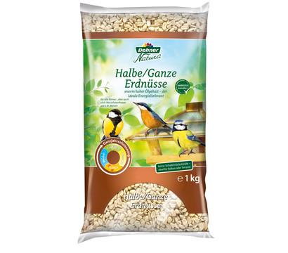 Dehner Natura Wildvogelfutter halbe/ganze Erdnüsse