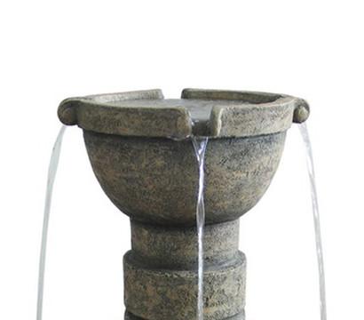 Dehner Polyresin-Brunnen Verona, 75 cm hoch: Dehner Garten ...