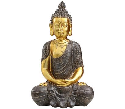 Dehner Polyresin-Buddha, 32 x 22,5 x 52,5 cm