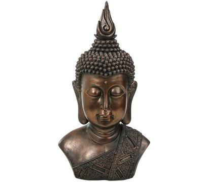 Dehner Polyresin-Buddhakopf, 30 x 21 x 57 cm