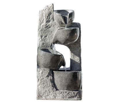 Dehner Polyresin-Gartenbrunnen Circ, ca. B40/H89/T25
