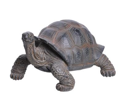 Dehner Polyresin-Schildkröte, 30,5 x 23,5 x 17,5 cm