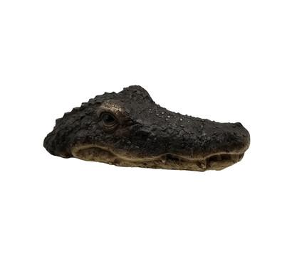 Dehner Polyresin-Schwimmfigur Krokodil, 29 x 15 x 8 cm