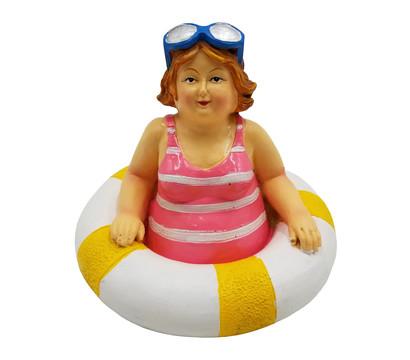 Dehner Polyresin-Schwimmfigur Molly stehend, 11 x 11 x 9 cm