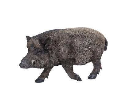 Dehner Polyresin-Wildschwein, ca. B59,5/H30,5/T20 cm