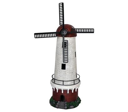 Dehner Polyresin-Windmühle Ostsee mit Solar, 32 x 25 x 62 cm