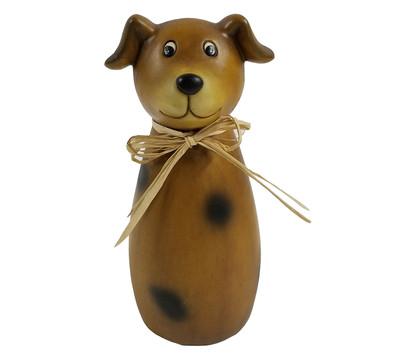 Dehner Polyresin-Zaunfigur Hund, ca. Ø9/H22 cm