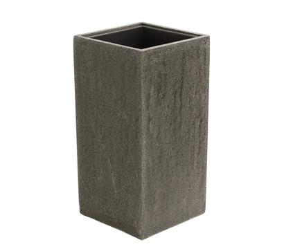 dehner polystone vase grau dehner garten center. Black Bedroom Furniture Sets. Home Design Ideas