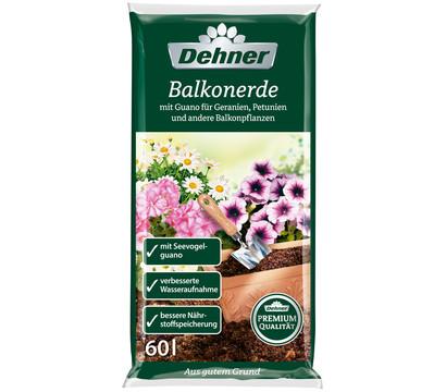 Dehner Premium Balkonerde, 60 l