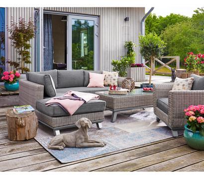 dehner premium beistelltisch nizza 120 x 70 cm dehner garten center. Black Bedroom Furniture Sets. Home Design Ideas