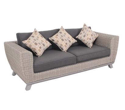 dehner premium geflechtsofa nizza 3er dehner garten center. Black Bedroom Furniture Sets. Home Design Ideas