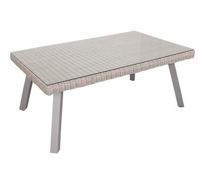 dehner premium geflechttisch nizza 150 x 90 cm dehner garten center. Black Bedroom Furniture Sets. Home Design Ideas