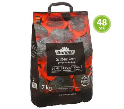 Dehner Premium Grillbriketts, 48 x 7 kg