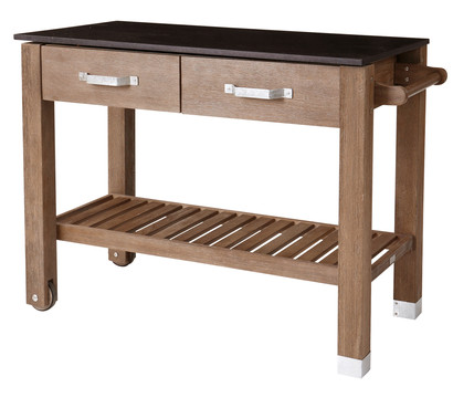 Dehner Premium Holz-Pflanztisch 'Windsor'