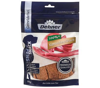 Dehner Premium Hundesnack Kaninchenfleisch, 170 g