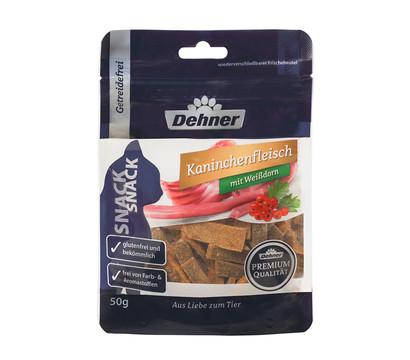 Dehner Premium Katzensnack Kaninchenfleisch mit Weißdorn, 45g
