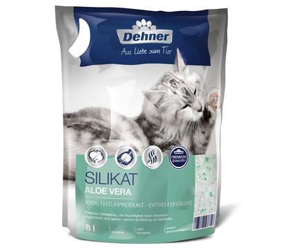 Dehner Premium Katzenstreu Silikat mit Aloe Vera
