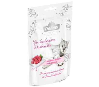 Dehner Premium Lovely Katzensnack Ein bescheidenes Dankeschön, 50g