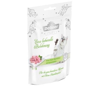 Dehner Premium Lovely Katzensnack Eine liebevolle Belohnung, 50g