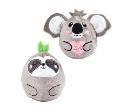 Dehner Premium Lovely Katzenspielzeug Set Tumbler Faultier & Koala