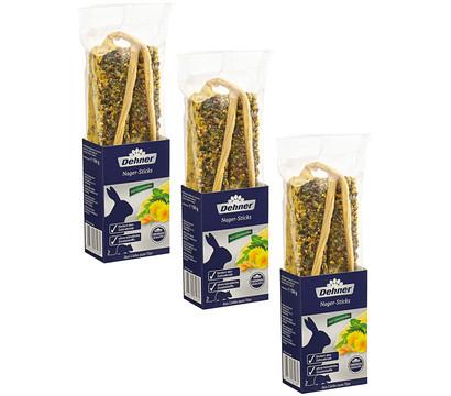 Dehner Premium Nagersnack Sticks, 3x150 g